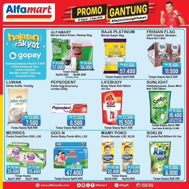 #Alfamart - #Promo Katalog Gajian Untung GANTUNG Periode 27 - 02 Sept 2019