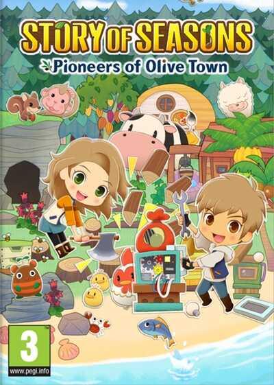 โหลดเกมส์ [Pc] STORY OF SEASONS: Pioneers of Olive Town   เกมส์ทำฟาร์ม