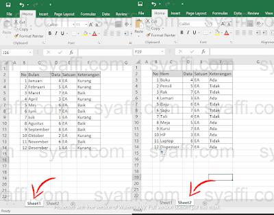 Mengembalikan Sheet EXCEL yang Terhapus