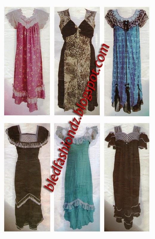 La Mode Algerienne Sabrina 3 20 Robes D Interieur
