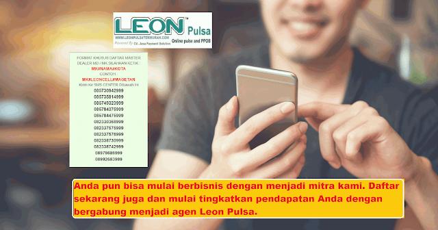 Leon Pulsa Distributor Pulsa Murah untuk Semua Operator
