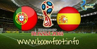 مشاهدة مباراة إسبانيا و البرتغال مباشر اليوم - كأس العالم روسيا 2018