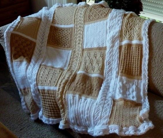 De Handwerktuin Gebreide deken patronen