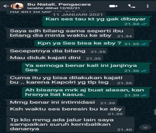Korban Penipuan Minta Kapolri Turun Tangan Berantas Mafia Hukum yang Libatkan Oknum Pengacara Bodong NR