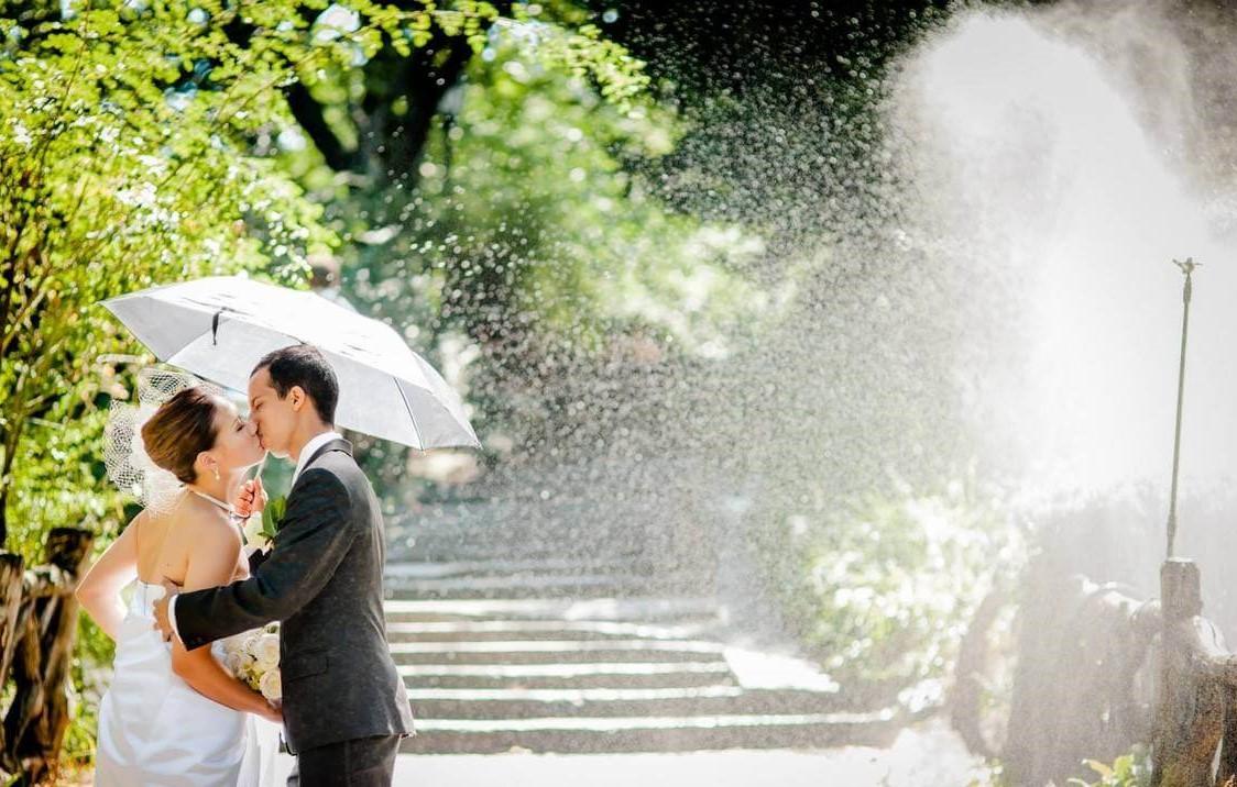 wedding photosession Ariana Waterfall Catering 79 Hempstead Turnpike