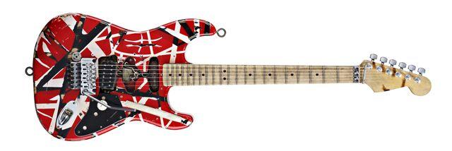 Guitarra de Eddie Van Halen Frankenstrat