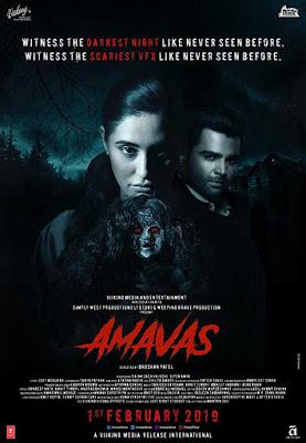 Poster Amavas 2019 Hindi HD 720p