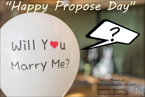 Propose Day 2020 Quote Images with Shayari
