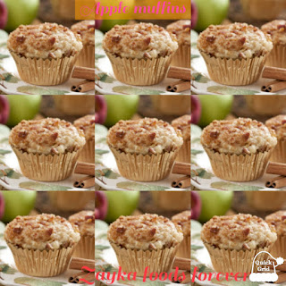 apple muffins,sweet recipe,dessert,baking,cake,cookies,dessert