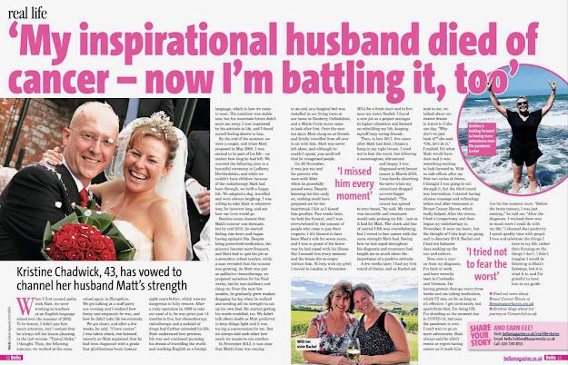 Bella magazine UK real life article, Chadwick