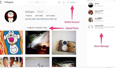 Upload Foto Instagram