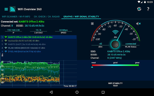 تحميل تطبيق WiFi Overview 360 Pro مدفوع للأندرويد