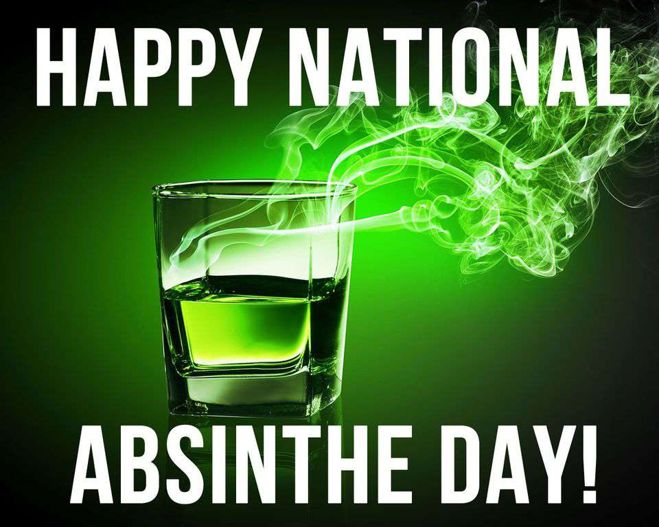 National Absinthe Day Wishes Awesome Picture