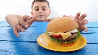 obezite çocuk fast food
