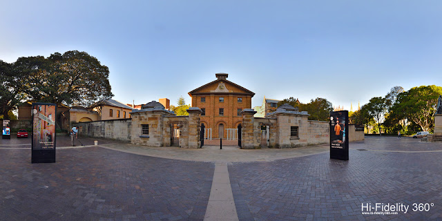 Hi-Fidelity 360° Panorama of Queens Square, Hyde Park Barracks, Sydney