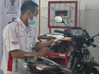 Astra Honda Motor Revitalisasi Tempat Uji Kompetensi di SMK Mitra Binaan