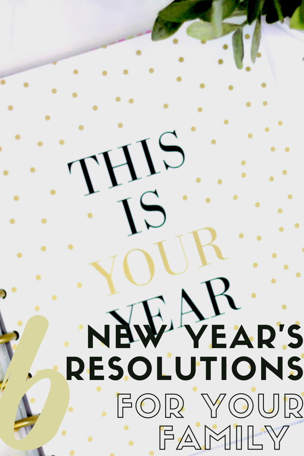 Six New Year's Resolutions for Your Family