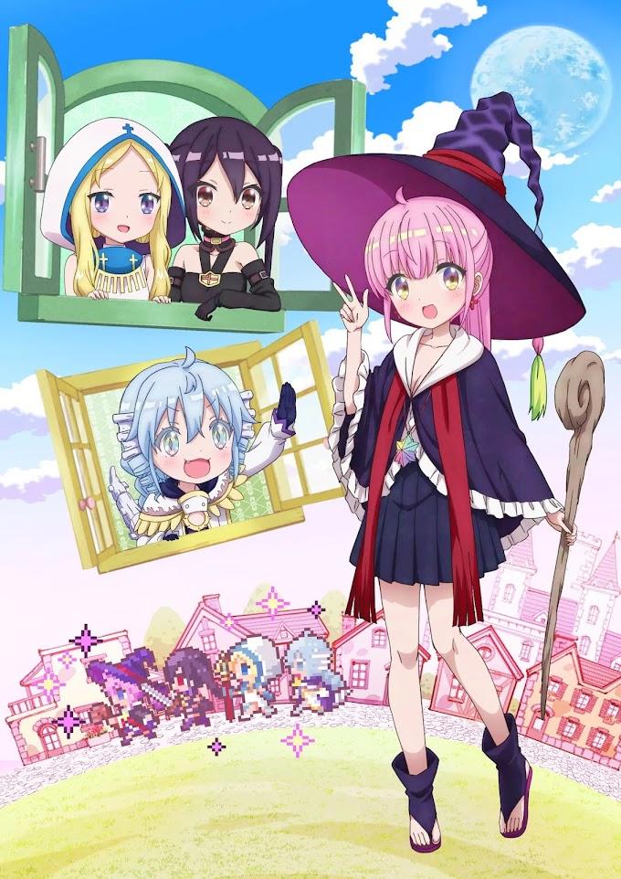 Anime 'RPG Fudousan' revelado primeira imagem promocional