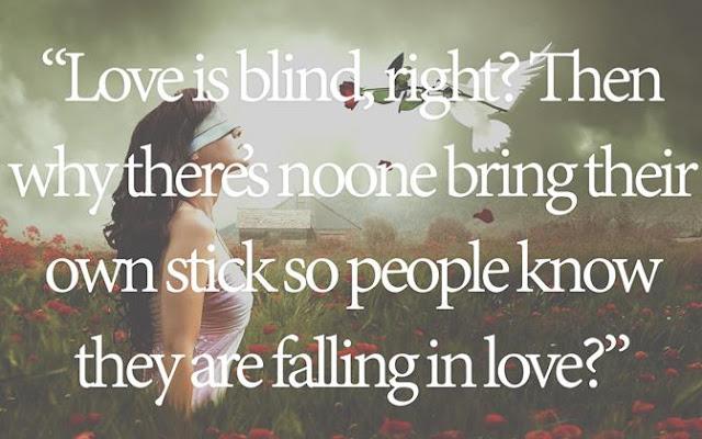 cinta itu buta