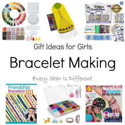 Gift Ideas for Girls: Bracelet Making