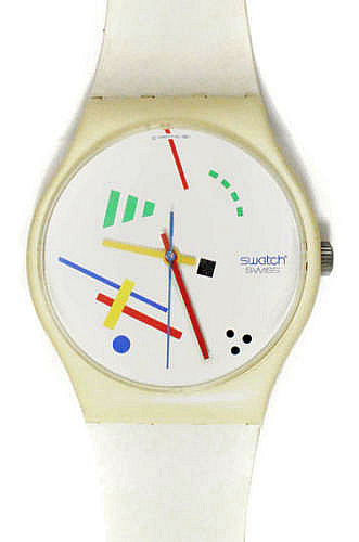 1980s Vasily Maxi Swatch Watch