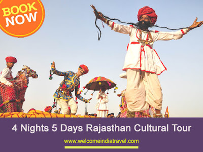 5 Days Cultural Rajasthan tour packages