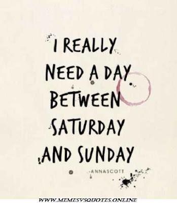 I Really need a day