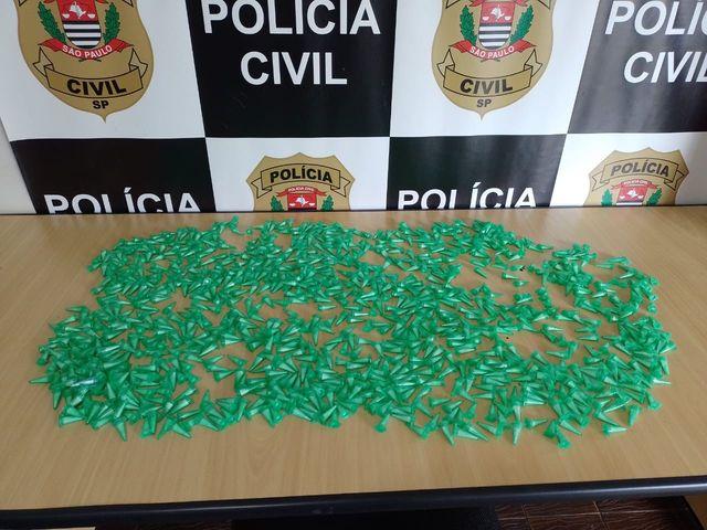 Polícia Civil identifica depósito e apreende grande quantidade de cocaína em Registro-SP