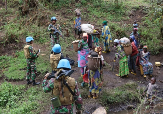 Aksi TNI Selamatkan Warga Sipil dari Serangan Kelompok Gumino di Kongo