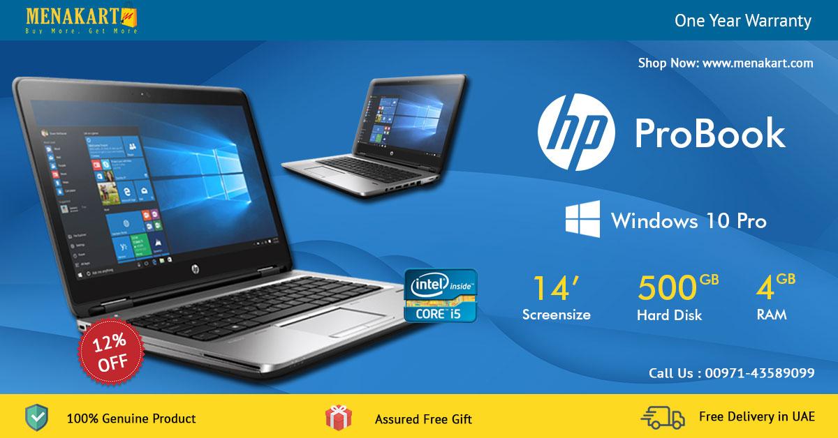 Online Shopping in Dubai: Buy HP Pro Book 640G3 14 Inch HD