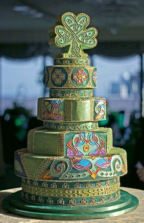 Wedding Cakes Pictures Celtic Wedding Cake