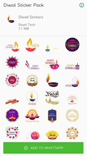 whatsapp diwali badhai sticker