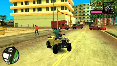 Grand Theft Auto Vice City Stories - Download Game PSP