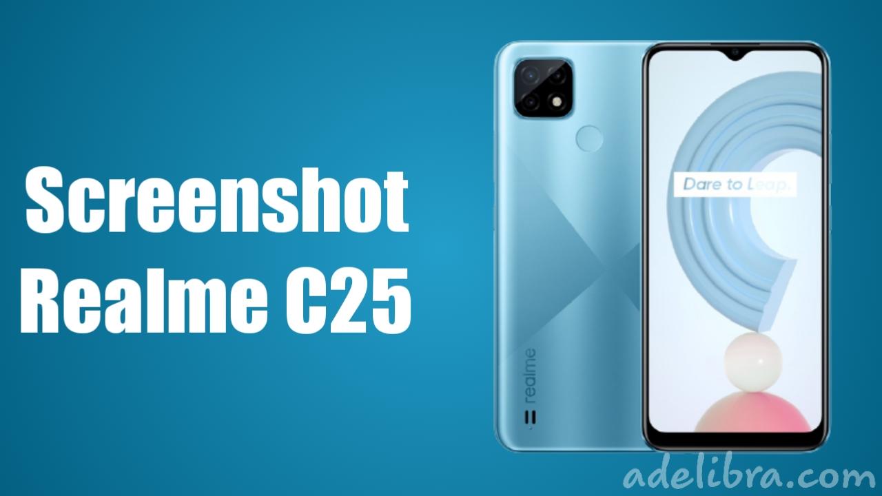 Cara Capture Realme C25