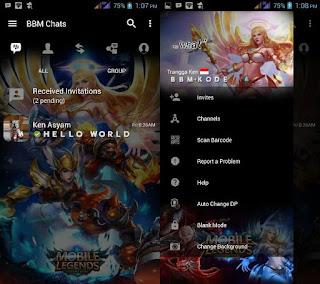 bbm mod mobile legends mod apk