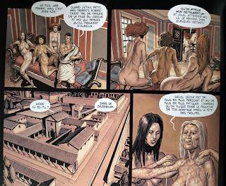 Inguinis Oracle tome 1 - Cécile (un homme) se défoule au lupanar avec trois femmes après s'être fait éconduire