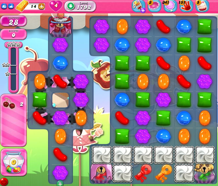 Candy Crush Saga 1792