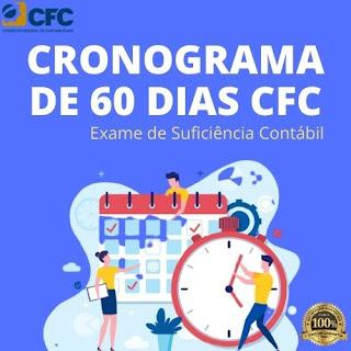 Cronograma de Estudos de 60 dias para Exame de Suficiência Contábil - CFC e CRC