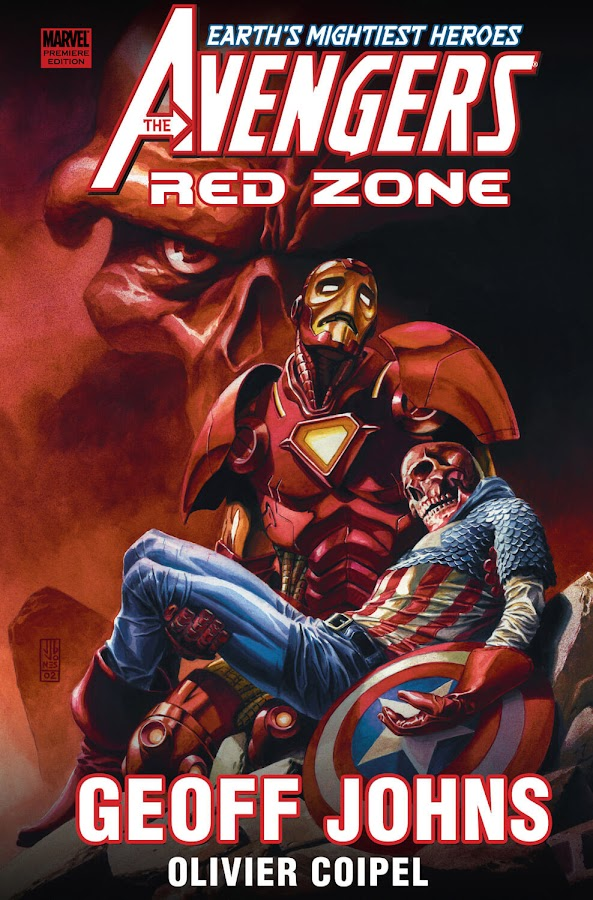 avengers red zone marvel comics geoff johns olivier coipel andy lanning