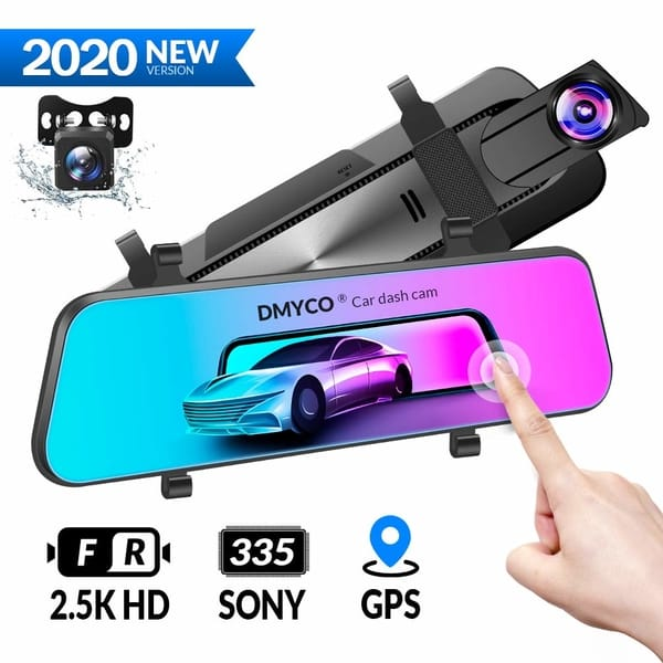 DMYCO 2.5K Mirror Backup Camera for Cars