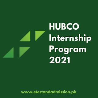 HUBCO Internship Program 2021