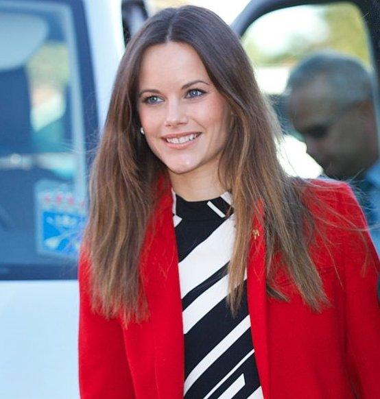 Princess Sofia Hellqvist of Sweden visits Dalarna