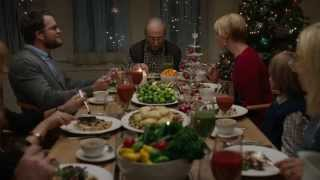 "Grandpa Is Not Impressed In Hallmark""s Hilarious ""Vegan Christmas"" Commercial"