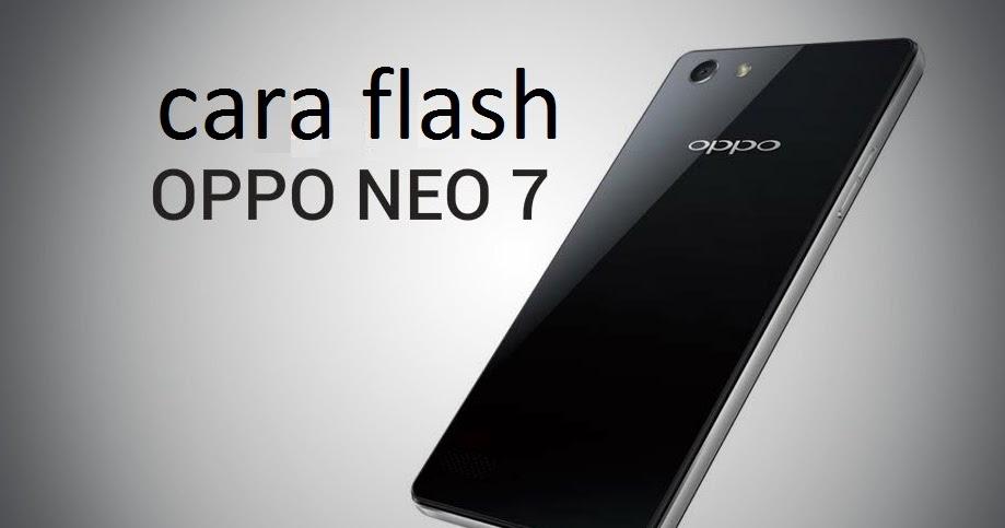 Cara Flash Oppo A37fw