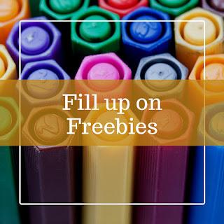 Finally, Fill up on Freebies