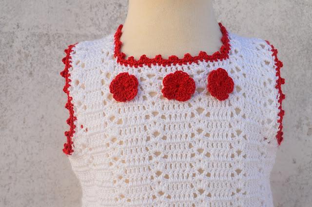 3 -Crochet Imagenes Sencillo vestido verano a crochet y ganchillo por Majovel Crochet
