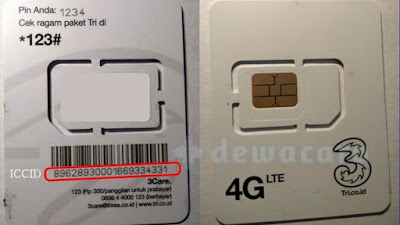 cara upgrade kartu tri 3G ke 4G