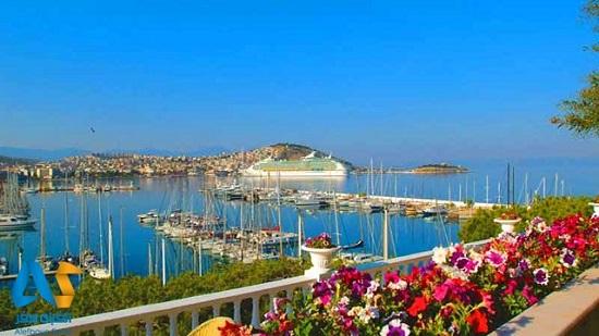 زیباترین شهر تفریحی ساحلی ترکیه به نام کوش آداسی