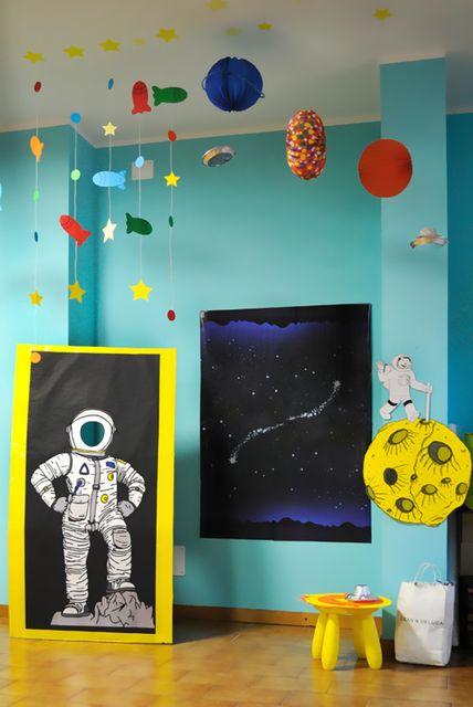 kosmiczne urodziny dekoracje