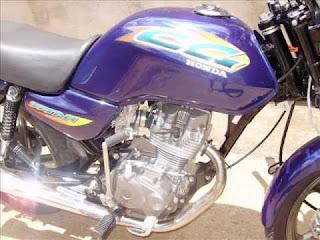 Motocicleta é tomada por assalto na zona rural de Olivedos